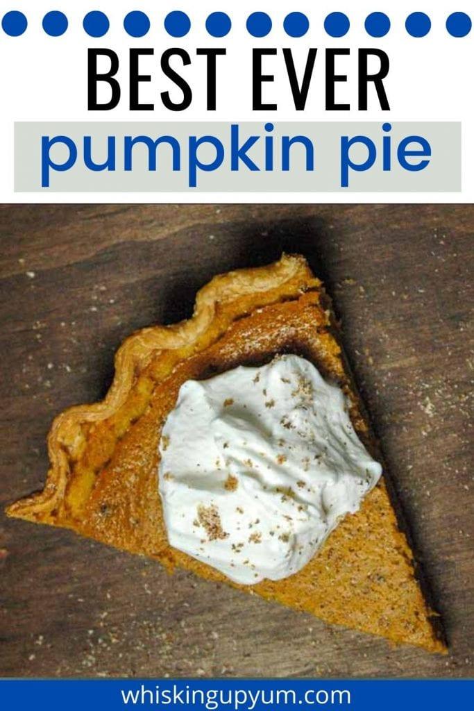 Best pumpkin pie recipe homemade
