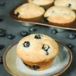 20 Minute Moist Blueberry Muffin Recipe