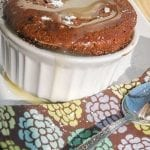 Brandied Caramel Chocolate Souffle