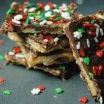 Christmas Crack Recipe with Saltine Crackers