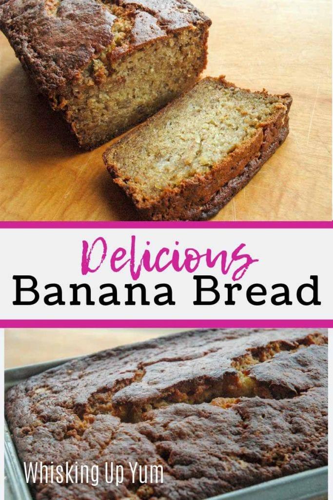 Delicious banana bread