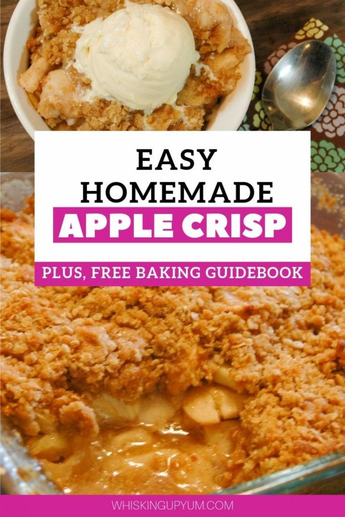Easy Homemade Apple Crisp Recipe