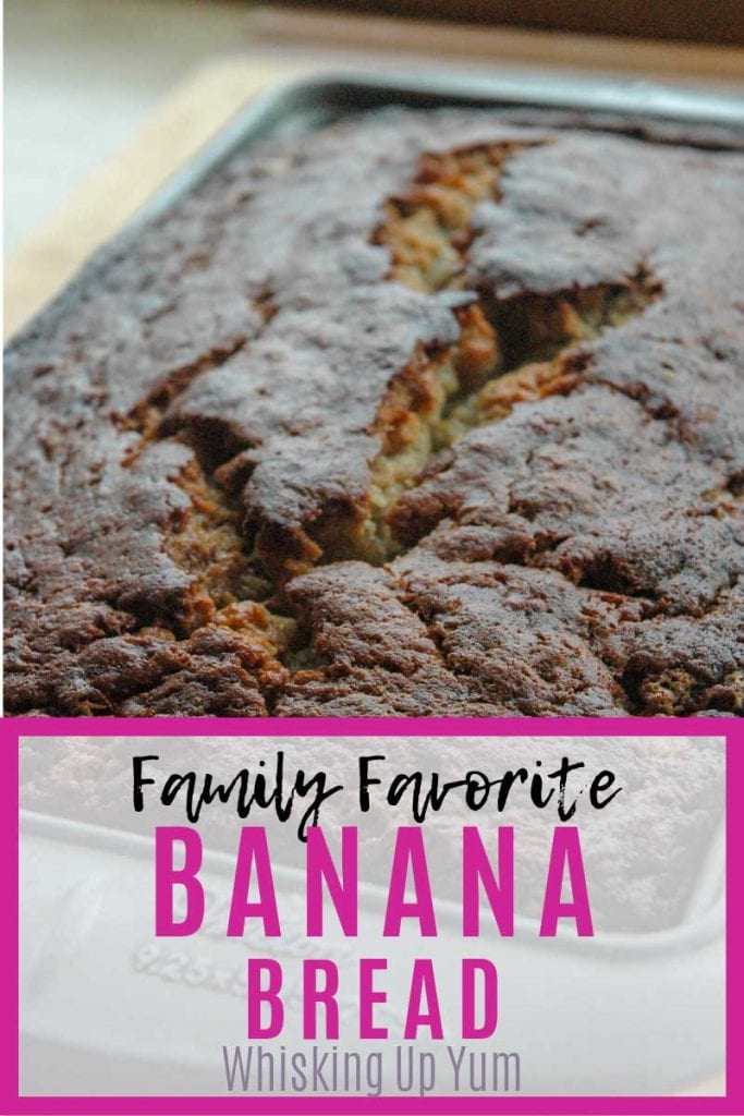 Family Favorite Banana Bread