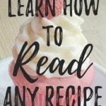 Learn How to Read a Recipe