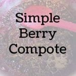 Simple Berry Compote