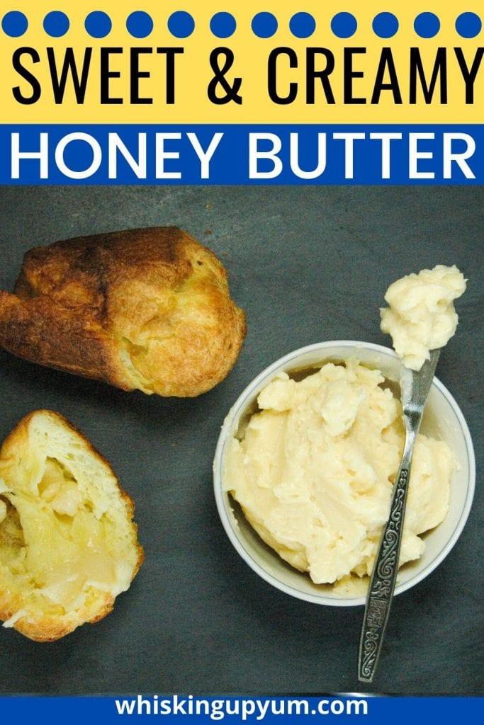 Sweet and Creamy Homemade Honey Butter