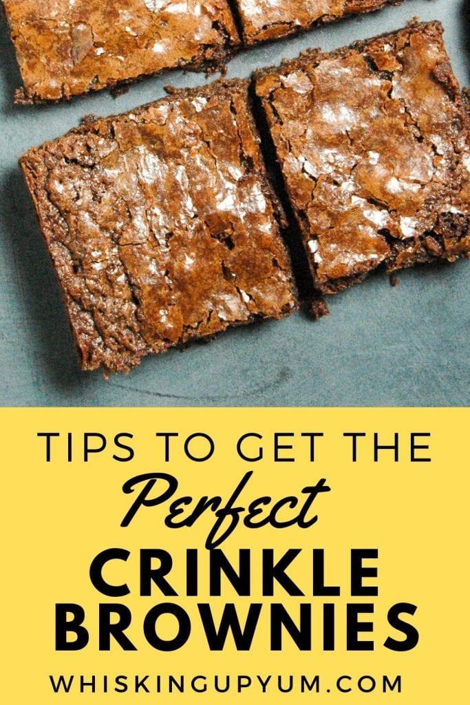 Pefect Crinkle Tops Brownie Recipe