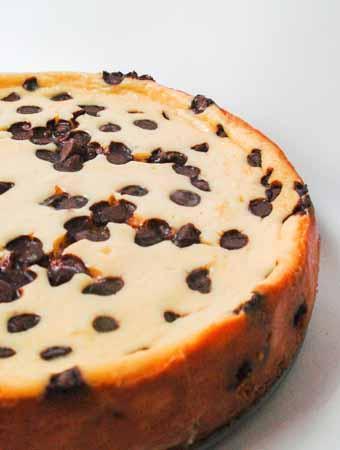 Crush crackers for chocolate cheesecake with graham cracker crust.