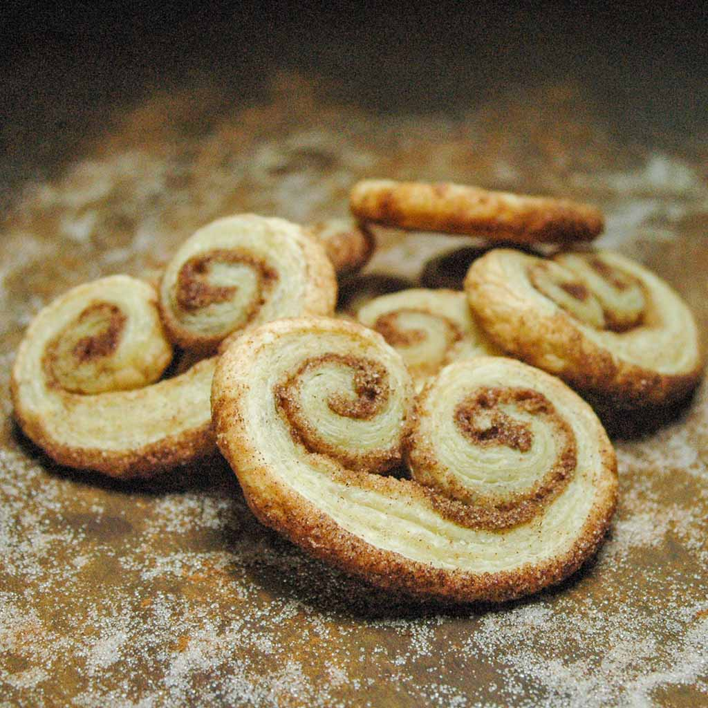 Classic French Palmiers Elephant Ears Whisking Up Yum